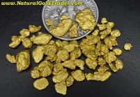 7.61 Grams of Superior Montana Gold Nuggets