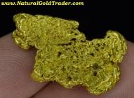 12.23 Gram Kalgoorlie Australia Gold Nugget