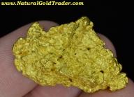 34.4 Gram Kalgoorlie Australia Gold Nugget