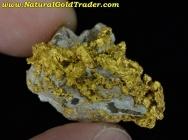 11.88 Gram Mohave Ca. Gold / Schist / Caliche