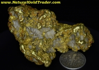 147.0 Gram Fairbanks Alaska Gold Nugget