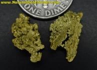 2.61 Grams (2) Moore Creek Alaska G-Nuggets