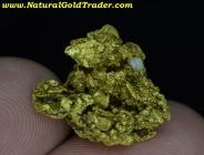 7.93 G. Mormon Basin Oregon Gold Nugget