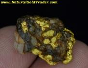 7.66 Gram W-Australia Gold/Quartz/Hematite
