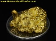 6.82 Gram Australia Placer Gold Nugget