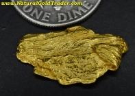 2.28 Gram Kalgoorlie Australia Gold Nugget