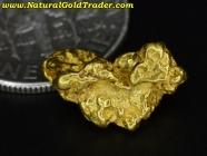 2.53 Gram Australia Placer Gold Nugget