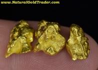 8.36 Grams (3) W-Australia Gold Nuggets