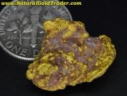 5.69 Gram California Gold & Quartz Specimen