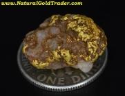 4.90 Gram Sonora Mexico Gold & Quartz