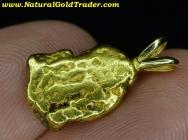 5.07 Gram Alaska Gold Nugget Pendant