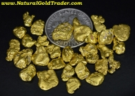 14.0 Grams (29) Alaska Gold Nuggets