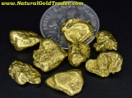 11.50 Grams (8) Alaska Placer Gold Nuggets