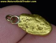 3.05 Gram Alaska Placer Gold Nugget Pendant