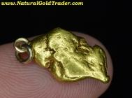 4.70 Gram Alaska Placer Gold Nugget Pendant