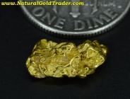 1.28 Gram Kalgoorlie Australia Gold Nugget