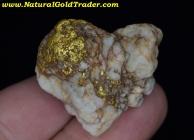33.7 Gram Baker Oregon Gold & Quartz Specimen