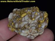 34.8 Gram Baker Oregon Gold & Quartz Specimen