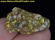 12.32 Gram Redding California Gold & Quartz