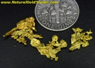 1.88 Grams (2) California Gold Specimens
