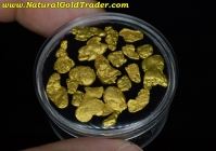 7.15 Grams of Alaska Placer Gold Nuggets