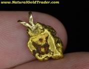 2.75 Gram Alaska Gold Nugget Pendant