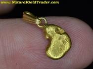 1.71 Gram Alaska Gold Nugget Pendant