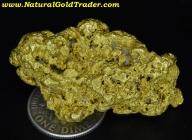 34.95 Gram Victoria Australia Gold Nugget