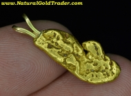 3.72 Gram Baker Oregon Gold Nugget Pendant