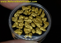 12.85 Grams (28) Alaska Placer Gold Nuggets