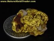 12.43 Gram W-Australia Gold/Quartz/Hematite