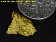 1.24 Gram Australia Placer Gold Nugget