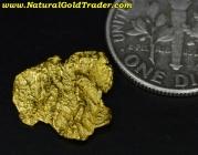 1.44 Gram Australia Placer Gold Nugget