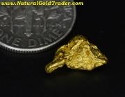 1.67 Gram Western Australia Gold Nugget