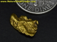 0.98 Gram California Placer Gold Nugget