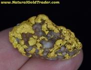 27.47 Gram Mexico Gold Nugget with Quartz