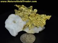 57.35 Gram Eagles Nest California Gold Specimen