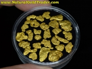 12.05 Grams (27) Oregon Placer Gold Nugges