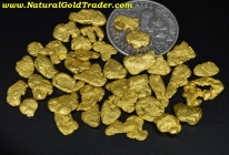 12.75 Grams (38) Oregon Placer Gold Nuggets