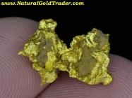 2.61 Gram Australia Gold Nugget with Quartz