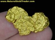 19.04 Gram Australia Placer Gold Nugget