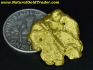 10.48 Gram Australia Placer Gold Nugget