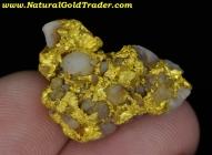 13.60 Gram Nullagine Australia Gold & Quartz