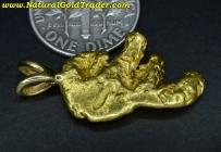 6.76 Gram Alaska Placer Gold Nugget Pendant