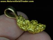 7.26 Gram Alaska Placer Gold Nugget Pendant