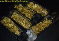 0.5 Ozt. 15.55 Grams AK #8 Mesh Placer Gold