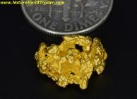 2.48 Gram Kalgoorlie Australia Gold Nugget