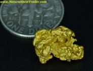 2.61 Gram Western Australia Gold Nugget