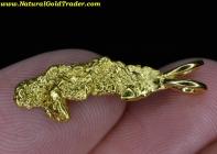 2.26 Gram Yukon Can. Gold Nugget Pendant