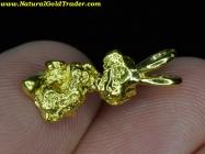 2.34 Gram Yukon Can. Gold Nugget Pendant